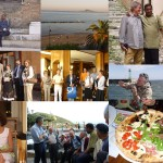 A collage of Formia's trip images.