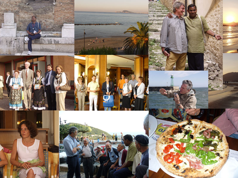 Photographer:Various | A collage of Formia's trip images.
