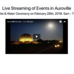 <b>Watch Live Dawn Fire & Water Ceremony in Amphitheater Live on Feb 28th, 5am - 7am IST</b>