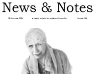 Photographer:   The cover of News & Notes