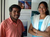 Photographer:   Lakshmanan (left) and Vinodhini