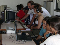 Photographer: | Students producing programs