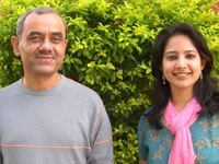 Photographer:Andrea   Anand Kumar and Gitanjali Sah