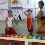<b>Le jeu de peindre a Auroville</b>