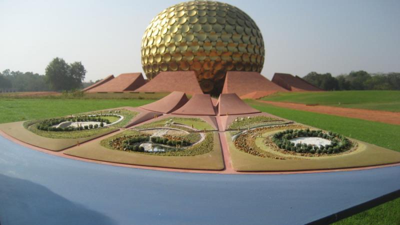 Photographer:   Maquette des jardins Sat Chit Ananda