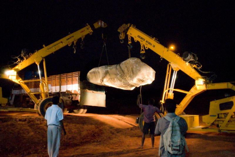 Photographer:   Arrival of Existence Stone on full moon night