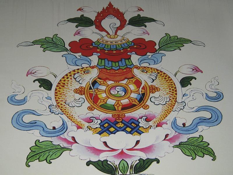 Photographer: | Traditional Tibetan decoration