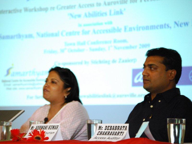 Photographer: | From left: Anjlee Agarwal & Ashwani Kumar - Pic Mattia