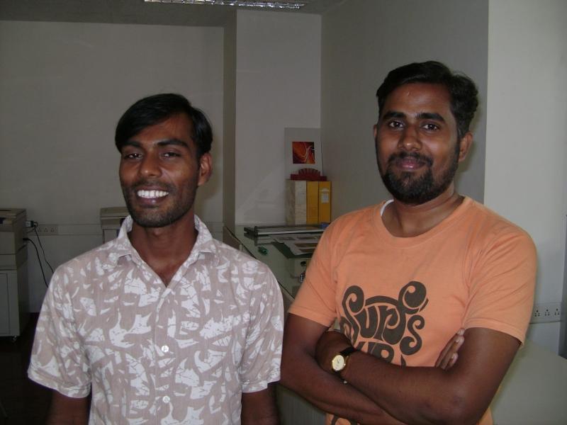 Photographer: | Rajan (left) and Tixon