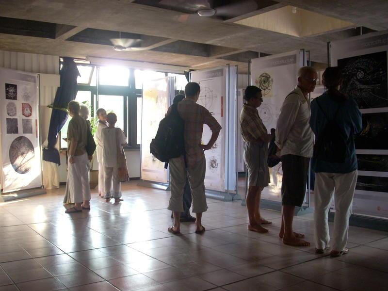Photographer:Andrea | UNFOLDING, The Auroville City Form