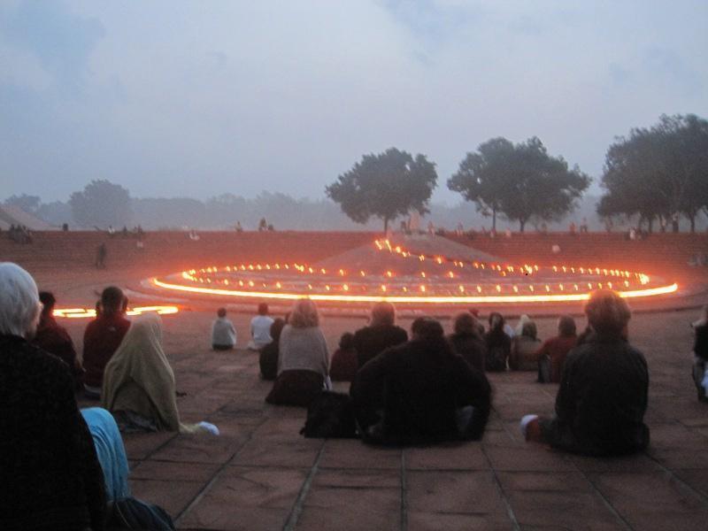 Photographer:Steffi   Dawn in Auroville