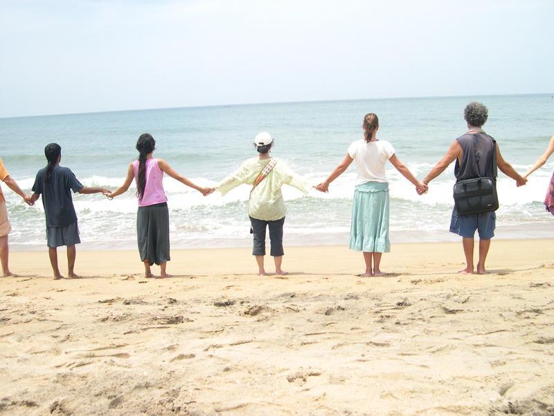 Photographer:Miriam   Hands Across the Sand 2