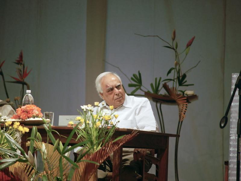 Photographer:Giorgio   Shri Kapil Sibal, Union Minister for Human Resource Development