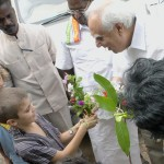 Shir Kapil Sibal and Auroville children