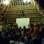 Music and dance performance from Sadhana people