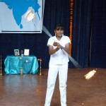Fire juggling by Priyam