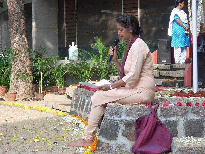 Photographer:Andrea | Anu giving her speech