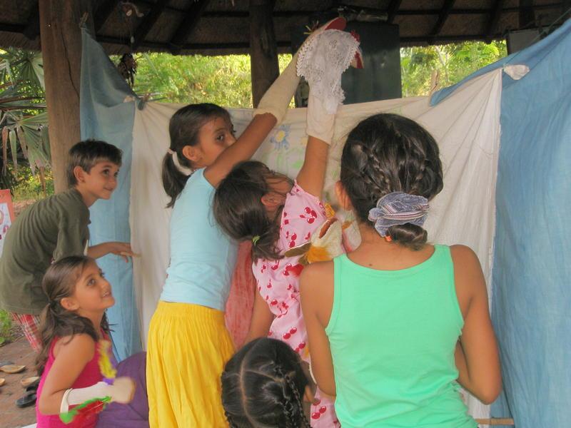 Photographer:Matilde | A puppet show