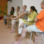 From left : Durganand, Dave, Alan, Latha and Sumant