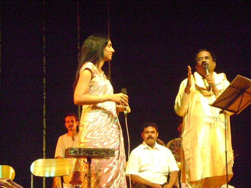 Photographer:Giorgio, Miriam, Sajju | Madhumitha and Gangai Amaran