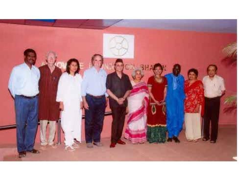 Photographer:Andrea and Auroville Foundation | Members of the Governing Board