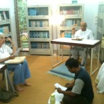 Shraddhavan giving commentary on the text