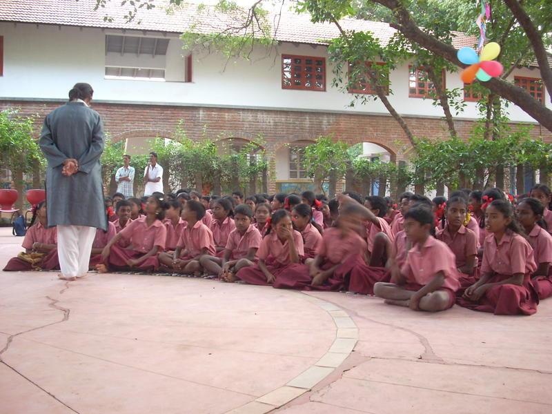Photographer:Andrea | The children of Udavi School
