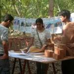 Auroville Market on Saturday morning