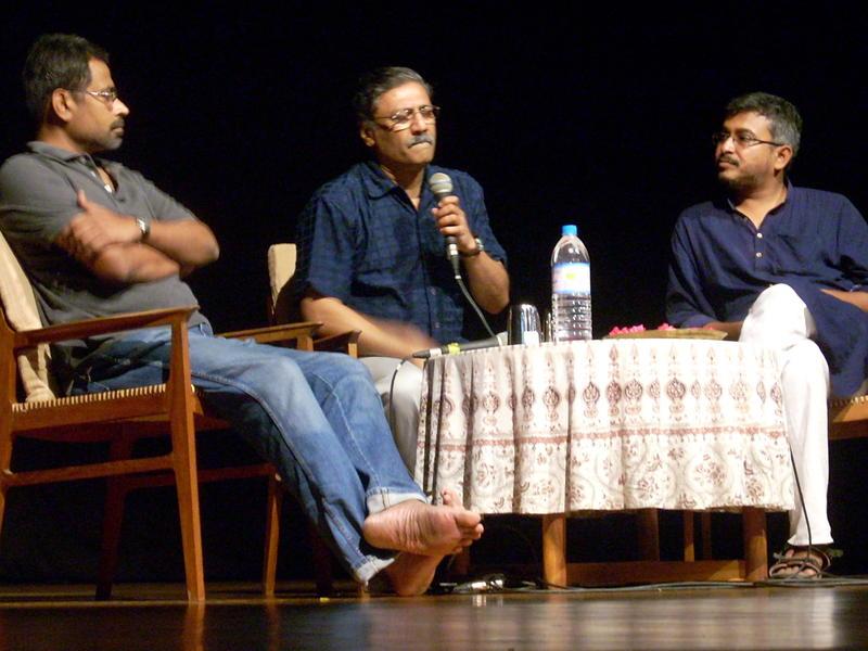 Photographer:Andrea | The Panel Discussion by Ramani, Hariharan and Sadanand Menon