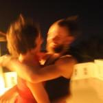 Irene e Johan in azione