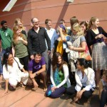 The students of the American University of Paris