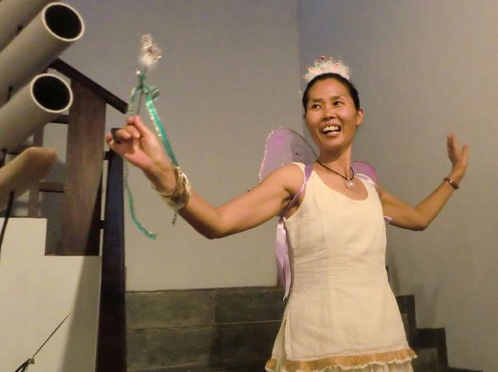 Photographer:Manohar, Miriam | Sarasija's transformation
