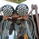 Musical Installation by Swaram Team at the Pavilion of Tibetan Culture