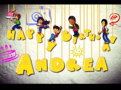 Photographer:internet | Happy birthday Andrea