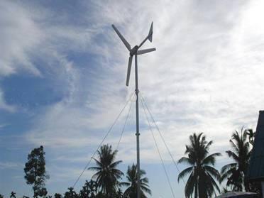 Photographer:web   Small Wind Turbine