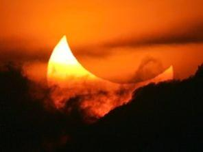 Photographer:web   Partial solar eclipse