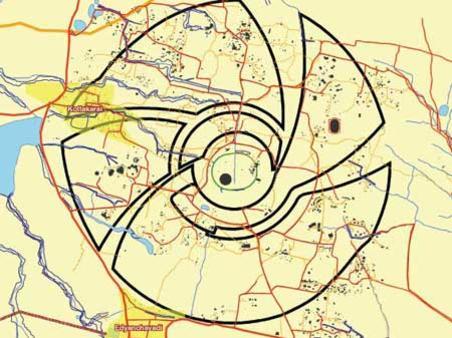 Photographer:web | Plan of Auroville