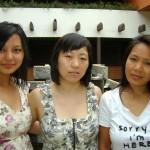 Tenzin, Choekyi and Dolma