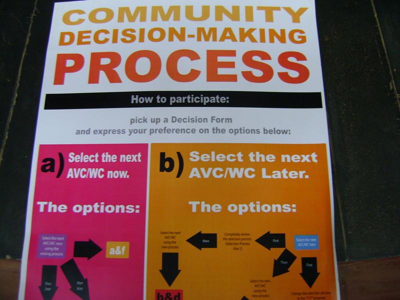 Photographer:miriam | Community Decision Making Process