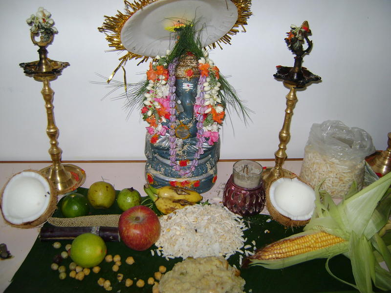 Photographer:Miriam | Lord Ganesh offerings