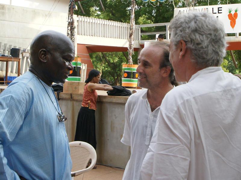 Photographer:Giorgio   From left: Doudou Di