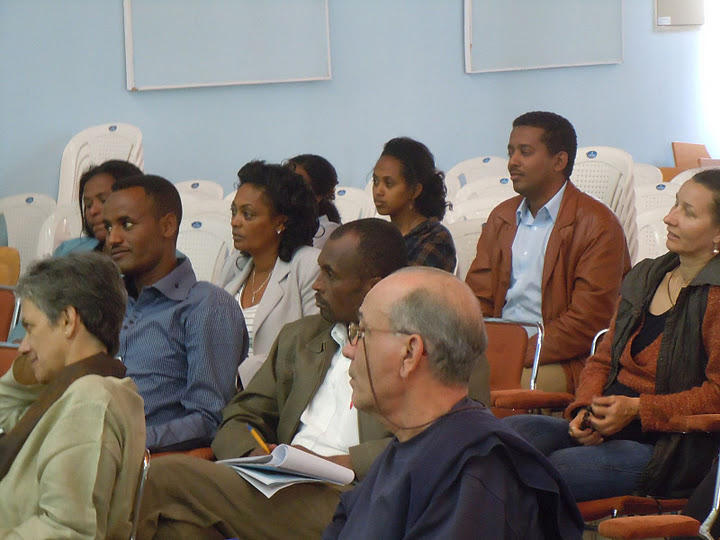 Photographer:julian lines  | Ethiopian audience at Red Cross Society TRaining Institute