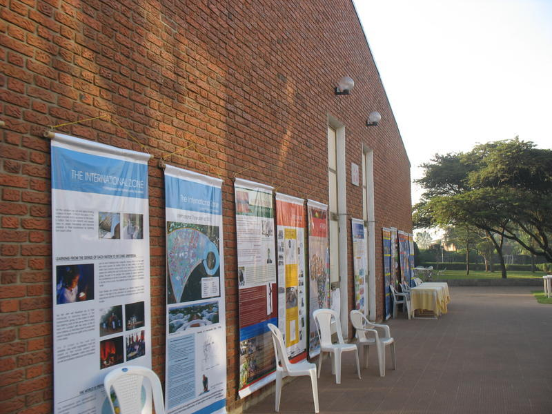Photographer:miriam | panels on Auroville