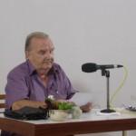 Georges van Vrekhem in the talk
