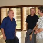 Georges van Vrekhem with Sergey and friends