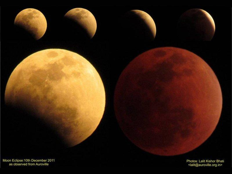 Photographer:Lalit   Total lunar eclipse
