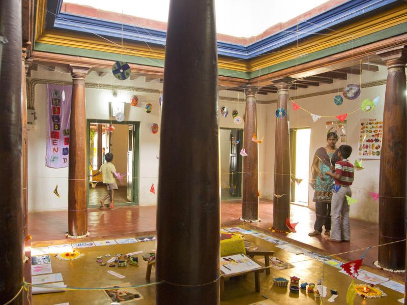 Photographer:Giorgio | Thamarai community centre in Edayanchavadi