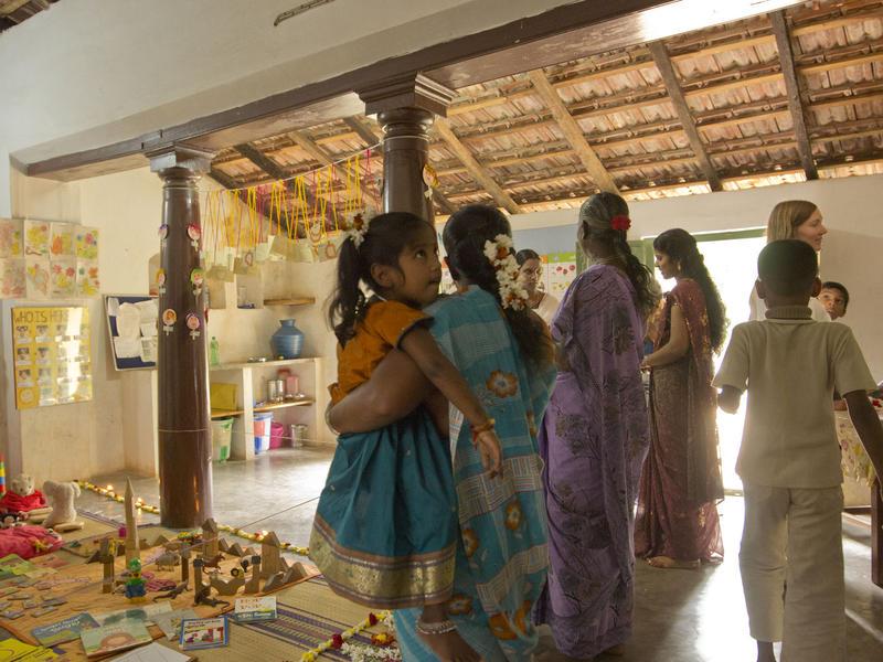 Photographer:Giorgio   Thamarai Open Day and book launch in Edayanchavadi