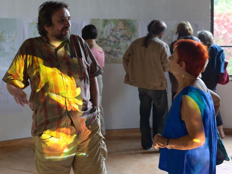 Photographer:Manu   The presentation made by Dorle