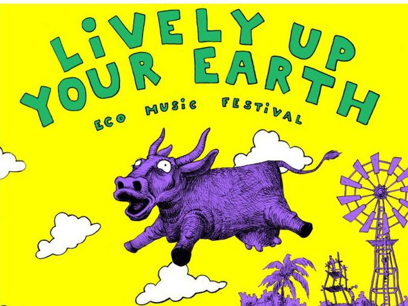 Photographer:Kenzo | Lively Up Your Earth poster